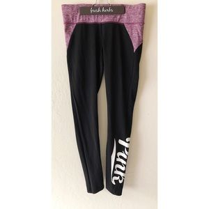 PINK ULTIMATE HIGH WAIST YOGA LEGGING | Sz S